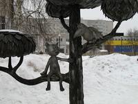 Памятник котёнку с улицы Лизюкова