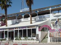 Хаммамет, около отеля, местный представитель турфирмы советовал это местечко, как самое лучшее место для обеда =), мы так и не сходили =)
