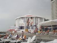 """Кафе """"Ротонда"""" на пляже """"Жемчужины"""""""