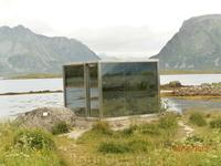 Комната смеха по-норвежски(изнутри-вогнутое зеркало).