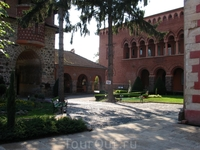 Женский монастырь Жича. Один из главных монастырей Сербии.