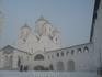 Спасский собор и галерея-переход к древненастоятельским кельям.