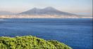 Из Неаполя -вид на Везувий