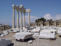 Храм Аполлона и Афины в Сиде. (II век нашей эры).