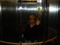 в лифте