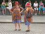 Бабушки-двойняшки. Манежная площадь.
