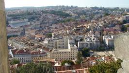 Вид на город из монастыря Святого Георгия