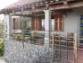 В таких домах реально живут люди.Частное домовладение в деревеньке в горах по пути на Учку.