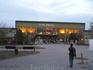 Железнодорожный вокзал Нове Замки (вечерний взгляд)