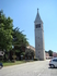 Поездка в Новиград. Приходская церковь Святого Пелагия трёхнефная с звоннницей. Вид самой колокольни.