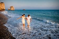 petra tou romiou- Pafos место где Афродита вышла из пены морской