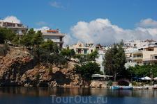Озеро в Агиос Николаосе