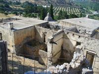 Первый монастырь Като-Превели,заброшен.