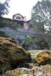 Там же на горе Пророка Ильи и находится дача Муссолини, вернее руины дачи.