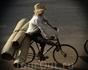 И здесь велосипедное мастерство на высоте