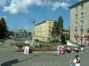 На окраине Петрозаводска. Необычный памятник.