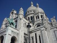 Basilique du Sacré Cœur Построен в память о французах погибших во время франко-прусской войны.
