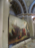 В верхнем храме. Эти картины по завершению реставрации поступят в главный дворец Архангельского