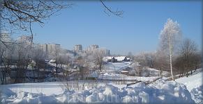 деревня Пятино - одна из многих деревень, ставших частью города