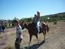 Катание на лошади недорого 10 гривен 1 круг довольно большой - нам есть с чем сравнивать.