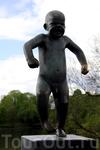 Сердитый малыш - стал символом Осло.