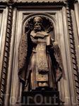 фрагмент Больших Северных дверей Иссаакиевского собора