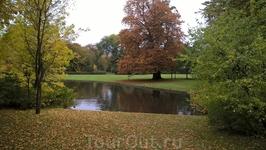 Парк в районе Фредериксберг.