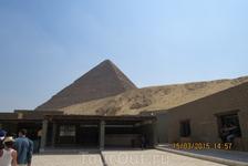 Пирамиды Гизы, вход