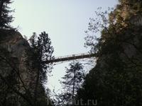 Мост Марии, переброшенный через ущелье Пиллат
