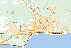 карта города хоста с улицами фото