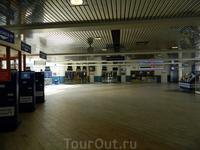 Стокгольм. Терминал Сильи Лайн
