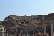 Амфитеатр в старом Сиде