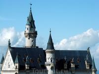 Крыша замка Neuschwanstein