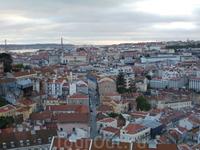 Лиссабон от замка Св.Георгия 1