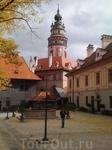 Башня замка Крумлова