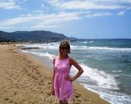 пляж в Малии