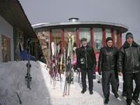 ...а вот и лыжи...