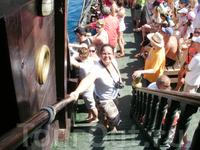 На кораблике