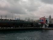 Галатский мост, ещё оказывается и разводной
