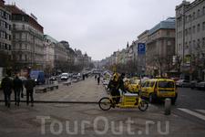 Один день в Праге
