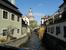 канал и вид с моста на башню замка
