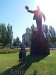 Памятник шахтерам-визитная карточка города