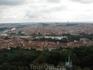 Вид на Прагу с башни Петржин