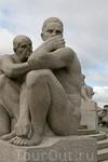Парк скульптур Вигеланда в Осло. Был создан скульптором Густавом Вигеландом в 1907—1942.