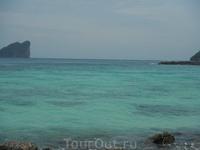 Цвет воды на Пхи-Пхи просто потрясающий!