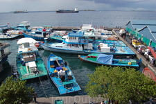 причал рыбаков в Мале