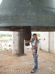 Колокол на звоннице Успенского собора