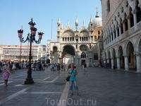 Это не piazza San Marco, это piazzetta San Marco...