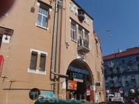 Бессарабский рынок в конце Крещатика.