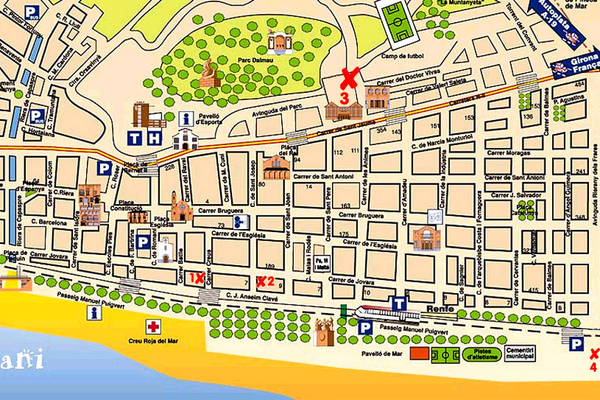 Найти недвижимость по карте испании